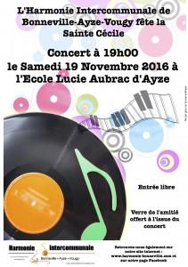Affiche Ste Cécile 2016